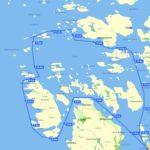 Kart turforslag Kvaløya